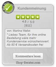 Shop-Berater.com - Kundenbewertung